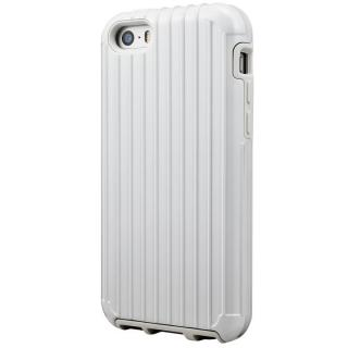 iPhone SE/5s/5 ケース GRAMAS COLORS Rib ハイブリッドケース ホワイト iPhone SE/5s/5