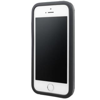 【iPhone SE/5s/5ケース】GRAMAS COLORS Rib ハイブリッドケース グレイ iPhone SE/5s/5_1
