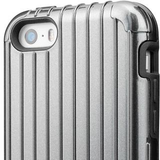 【iPhone SE/5s/5ケース】GRAMAS COLORS Rib ハイブリッドケース グレイ iPhone SE/5s/5_2