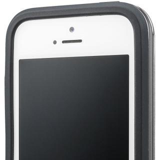 【iPhone SE/5s/5ケース】GRAMAS COLORS Rib ハイブリッドケース グレイ iPhone SE/5s/5_4