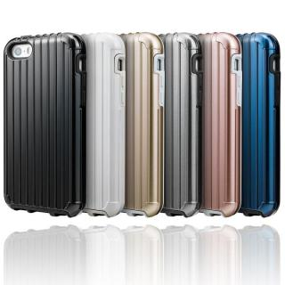 【iPhone SE/5s/5ケース】GRAMAS COLORS Rib ハイブリッドケース グレイ iPhone SE/5s/5_5