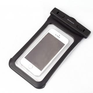 [2017夏フェス特価]IPX8 防水ソフトケース Waterproof ブラック iPhone SE/5s/5c/5 iPod touch