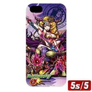 モンスト選抜選挙 地獄の薔薇のハーレーX iPhone SE/5s/5ケース