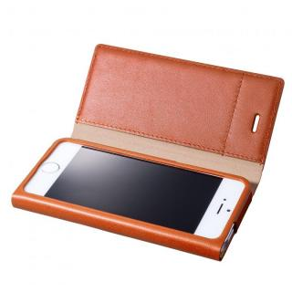 GRAMAS One-Sheet Leather2 タン iPhone 5s/5 手帳型ケース