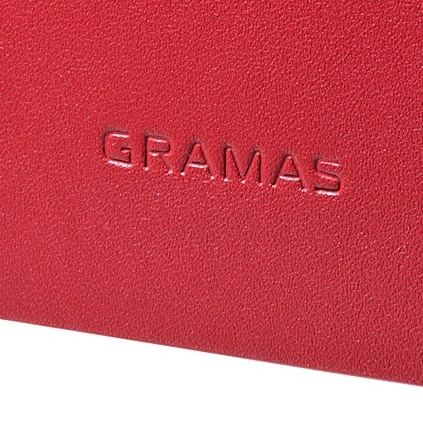 GRAMAS One-Sheet Leather2 レッド iPhone 5s/5ケース 送料無料