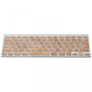 Apple Wireless Keyboard(JIS配列)日本語キーボード ウッドスキン チェリー_2