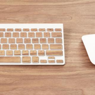 Apple Wireless Keyboard(JIS配列)日本語キーボード ウッドスキン チェリー_5
