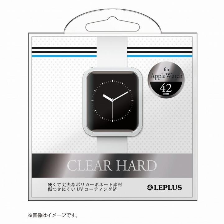 AppleWatch 42mm ハードケース 「CLEAR HARD」 クリア_0