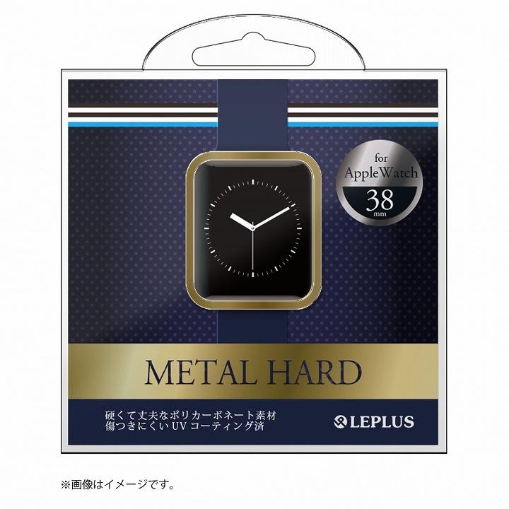 AppleWatch 38mm ハードケース「METAL HARD」 ゴールド_0