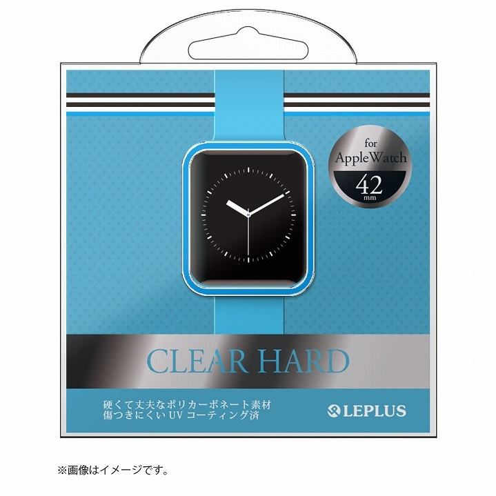 AppleWatch 42mm ハードケース 「CLEAR HARD」 ブルー_0