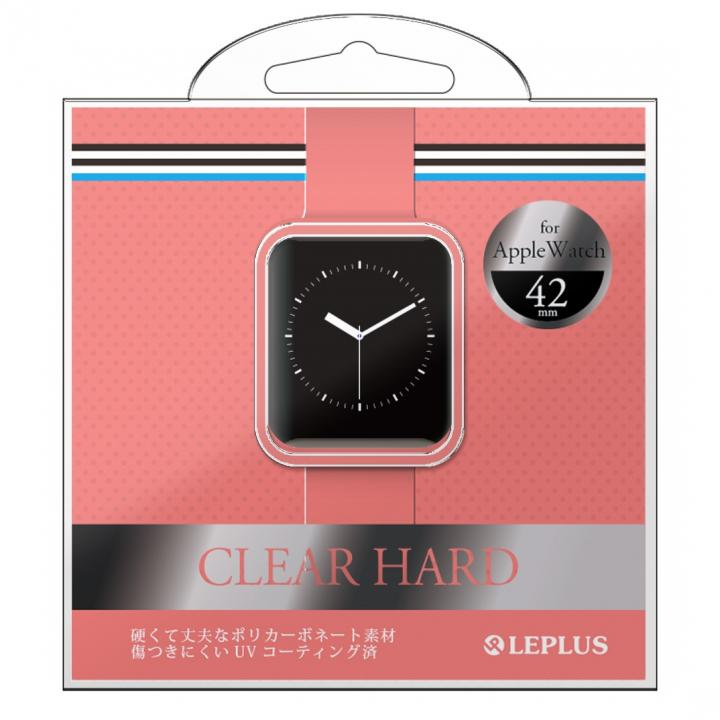 AppleWatch 42mm ハードケース 「CLEAR HARD」 ピンク_0