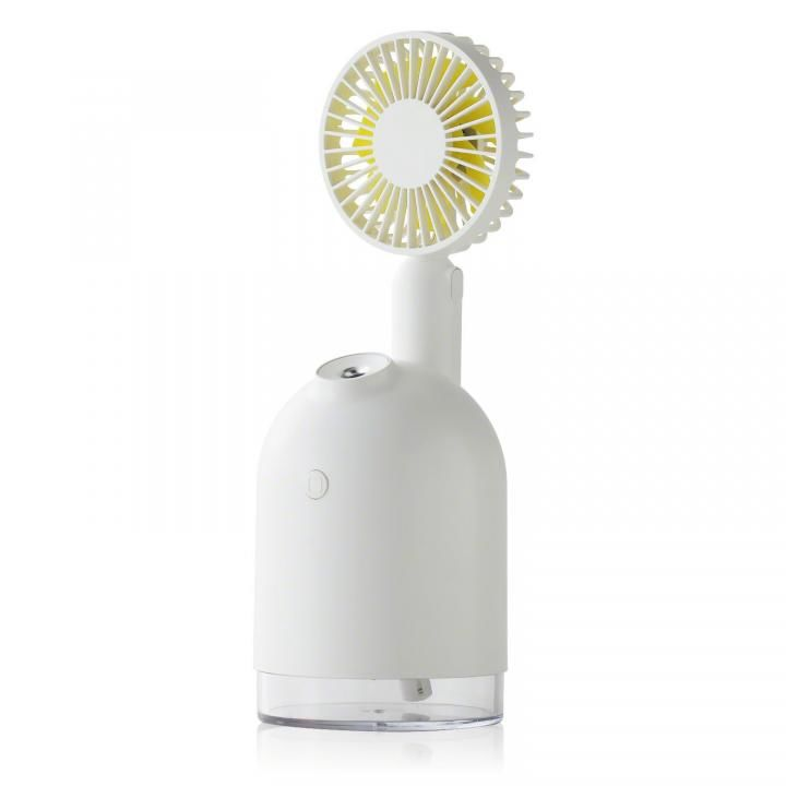 Qurra 4WAY扇風機&加湿器 ホワイト_0
