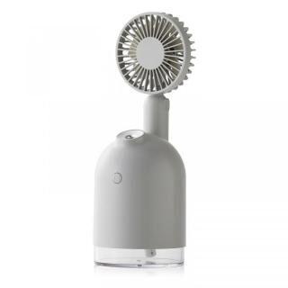 Qurra 4WAY扇風機&加湿器 グレー