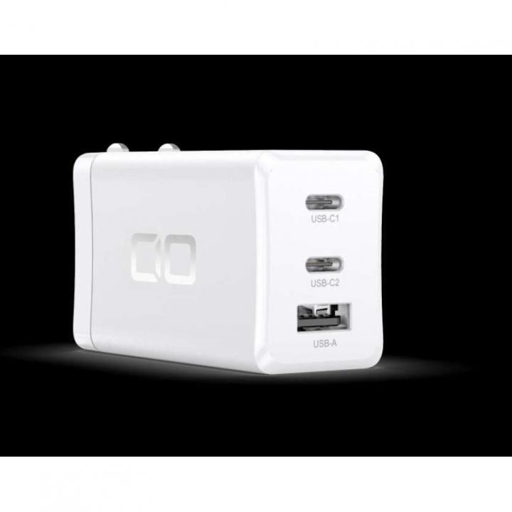 LilNob 世界最小級 GaN搭載 65W 急速充電アダプター QC3.0/PD3.0対応 ホワイト_0