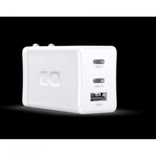 LilNob 世界最小級 GaN搭載 65W 急速充電アダプター QC3.0/PD3.0対応 ホワイト