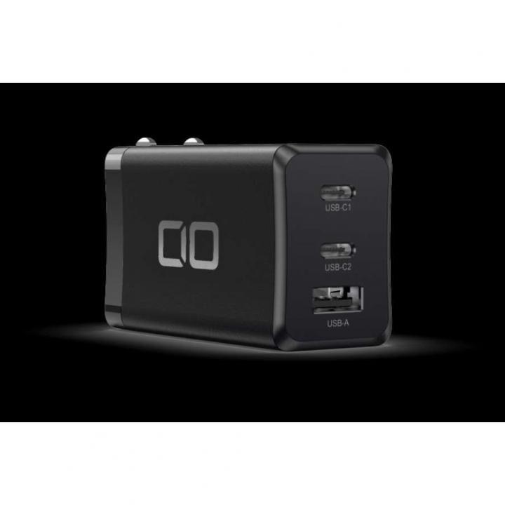 LilNob 世界最小級 GaN搭載 65W 急速充電アダプター QC3.0/PD3.0対応 ブラック_0