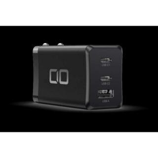LilNob 世界最小級 GaN搭載 65W 急速充電アダプター QC3.0/PD3.0対応 ブラック【8月上旬】