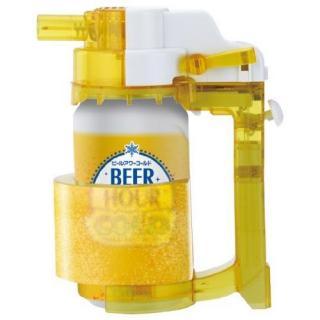 生ビールのように注げる ビールアワーコールド クリアイエロー