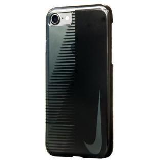 NIKE SWOOSHマーク ハードケース ブラック/アンスラサイト iPhone 7