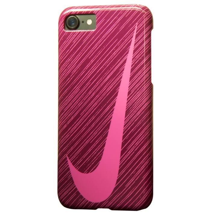 iPhone7 ケース NIKE SWOOSHマーク ハードケース ダイナミックベリー/ハイパーピンク iPhone 7_0