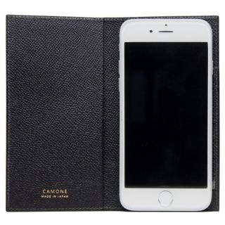 CAMONE Made In Japan 5.5インチ 多機種対応手帳型ケース ブラック【7月上旬】
