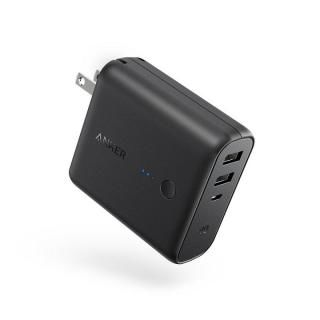 [5000mAh]Anker PowerCore Fusion 5000 USB急速充電器/モバイルバッテリー ブラック【1月下旬】