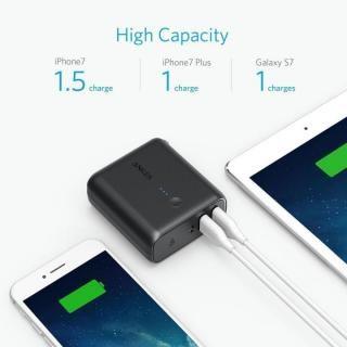 [5000mAh]Anker PowerCore Fusion 5000 USB急速充電器/モバイルバッテリー ブラック_2