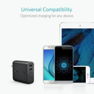 [5000mAh]Anker PowerCore Fusion 5000 USB急速充電器/モバイルバッテリー ブラック【10月下旬】_4
