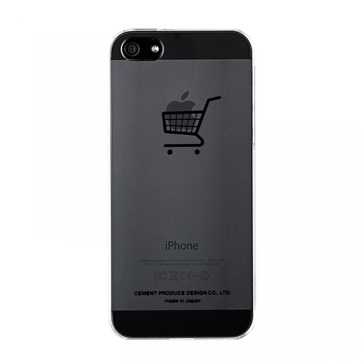 iPhone SE/5s/5 ケース iPhoneにタトゥーを iTattoo5 her's car ブラック iPhone SE/5s/5ケース_0