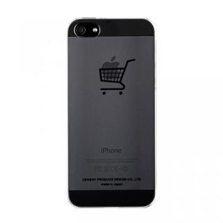 iPhoneにタトゥーを iTattoo5 her's car ブラック iPhone SE/5s/5ケース