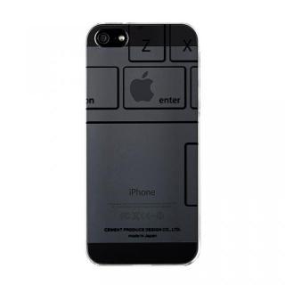 iPhoneにタトゥーを iTattoo5 Keyboard ブラック iPhone SE/5s/5ケース