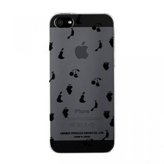 iPhoneにタトゥーを iTattoo5 Queen  Fruits ブラック iPhone SE/5s/5ケース