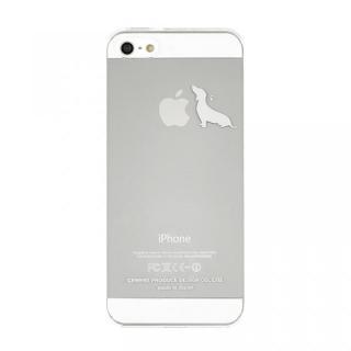 【iPhone SE/5s/5ケース】iPhoneにタトゥーを iTattoo5 Stay!ホワイト iPhone SE/5s/5ケース