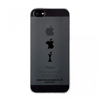 iPhoneにタトゥーを iTattoo5 Apple Core ブラック iPhone SE/5s/5ケース