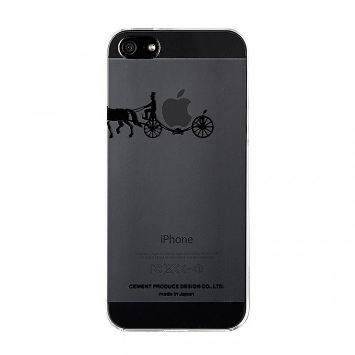iPhone SE/5s/5 ケース iPhoneにタトゥーを carriage of apple ブラック iPhone SE/5s/5ケース_0