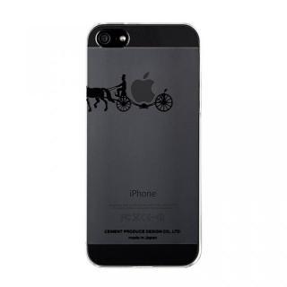 iPhoneにタトゥーを carriage of apple ブラック iPhone SE/5s/5ケース