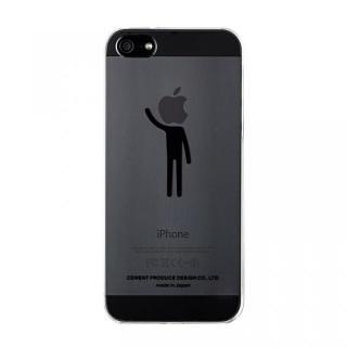 iPhoneにタトゥーを iTattoo5 I'm a Believer. ブラック iPhone SE/5s/5ケース