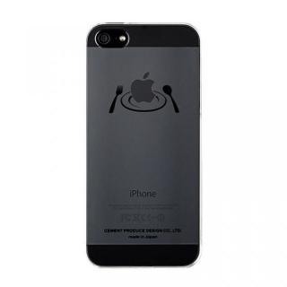 iPhoneにタトゥーを iTattoo5 Main Dish ブラック iPhone SE/5s/5ケース
