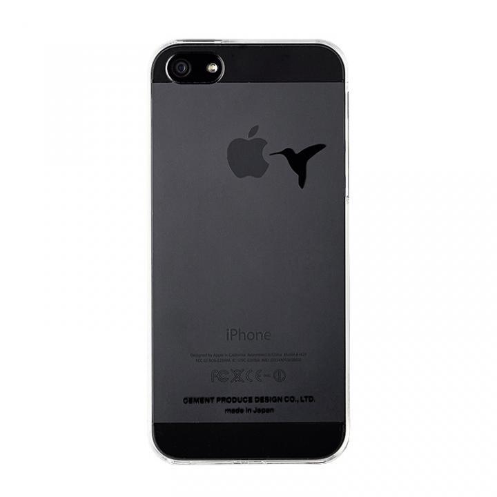 【在庫限り】iPhoneにタトゥーを iTattoo5 Don't feed a bird ブラック iPhone 5s/5ケース