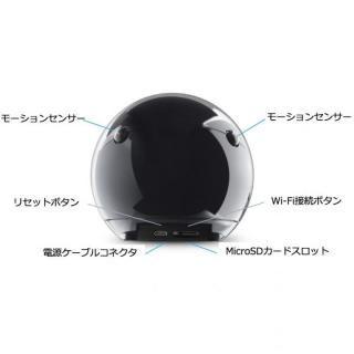 360°自動追尾する見守り防犯カメラ ATOM ホワイト_6