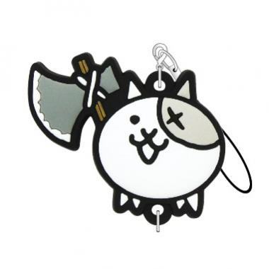 にゃんこ大戦争 つながるラバーストラップ(バトルネコ)