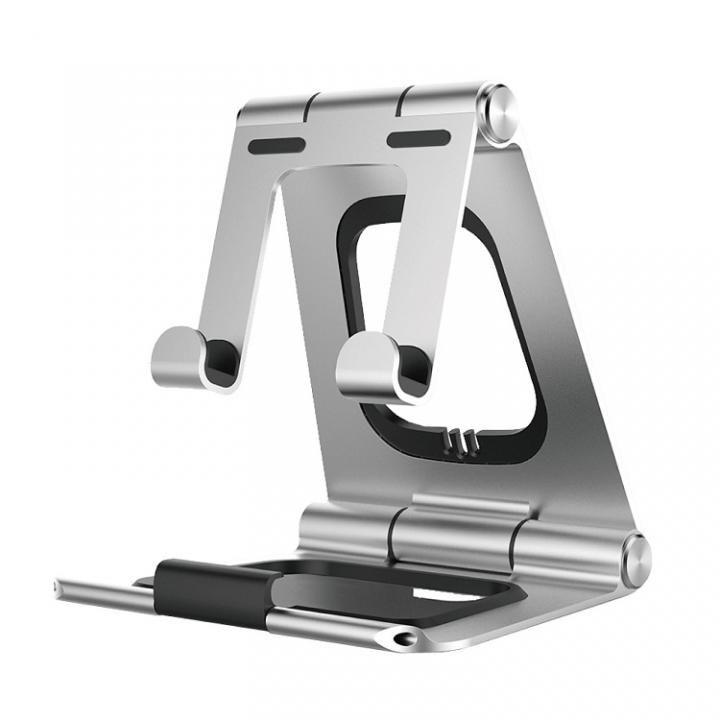 可変式タブレットスタンド Alumiformer シルバー_0