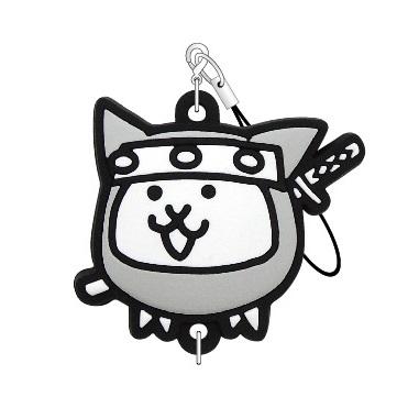 にゃんこ大戦争 つながるラバーストラップ(ネコ忍者)
