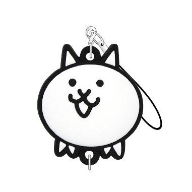 にゃんこ大戦争 つながるラバーストラップ(ネコ)_0