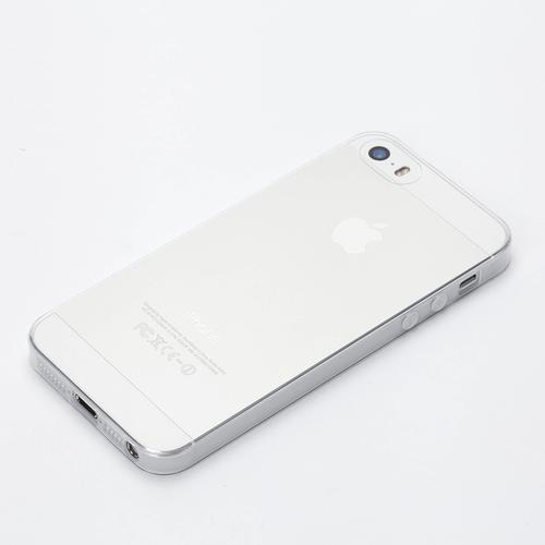 【iPhone SE/5s/5ケース】TPUスーパースリムケース クリア iPhone SE/5s/5ケース_0