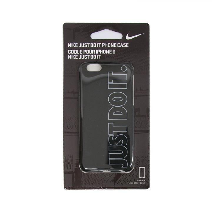 【iPhone6s/6ケース】NIKE JUST DO IT ハードケース ブラック_0