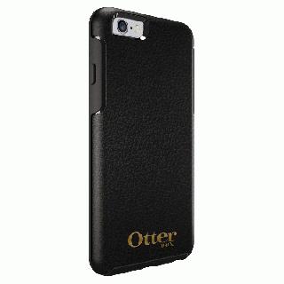 [4周年特価]OtterBox Symmetry 耐衝撃レザーケース ミッドナイトブラック iPhone 6s/6