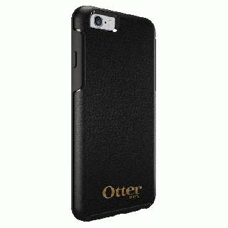 OtterBox Symmetry 耐衝撃レザーケース ミッドナイトブラック iPhone 6s/6