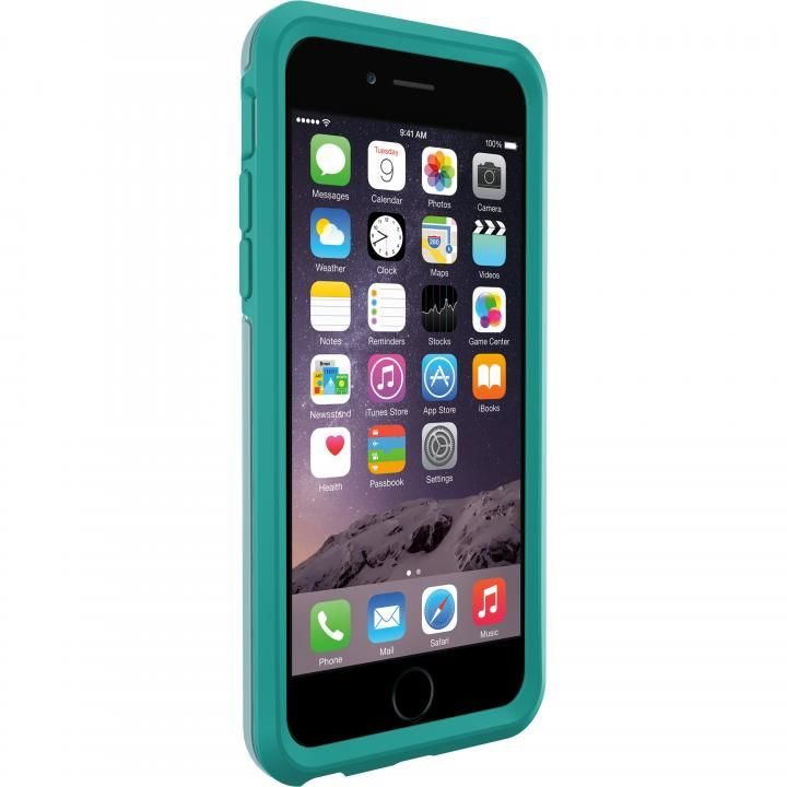 OtterBox Symmetry グラフィック 耐衝撃ケース ポルカドット iPhone 6s/6