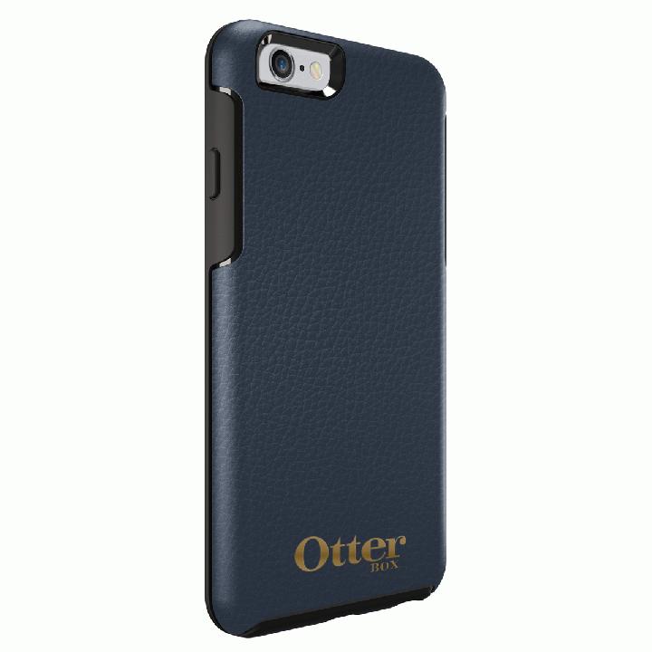 OtterBox Symmetry 耐衝撃レザーケース ネイビー iPhone 6s/6